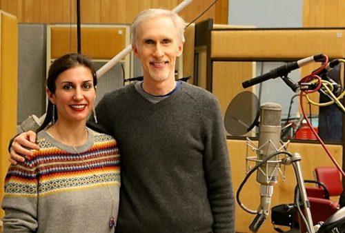 Clara Sanabras and Mark McKenzie at Abby Raod Studios - Version 2